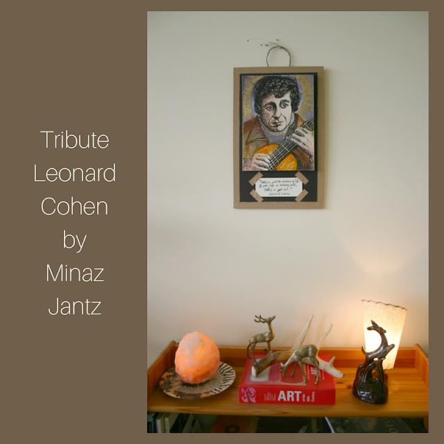 Tribute Leonard Cohen by Minaz Jantz
