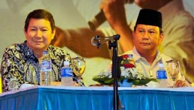 Hashim Djojohadikusumo, adik Ketua Umum Partai Gerindra, Prabowo Subianto