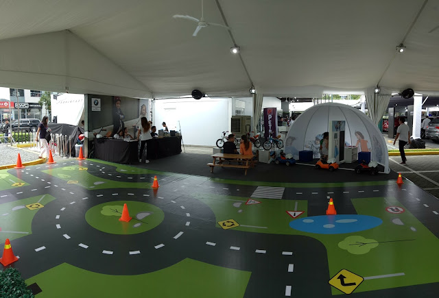 BMW Xpo 2017 Kids play area