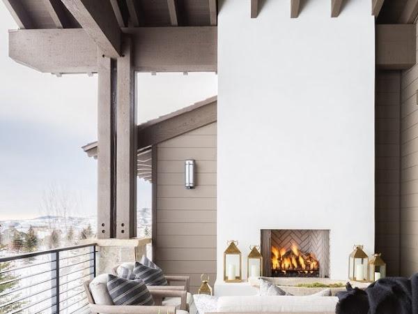 Refugio de invierno, una casa para relajarse