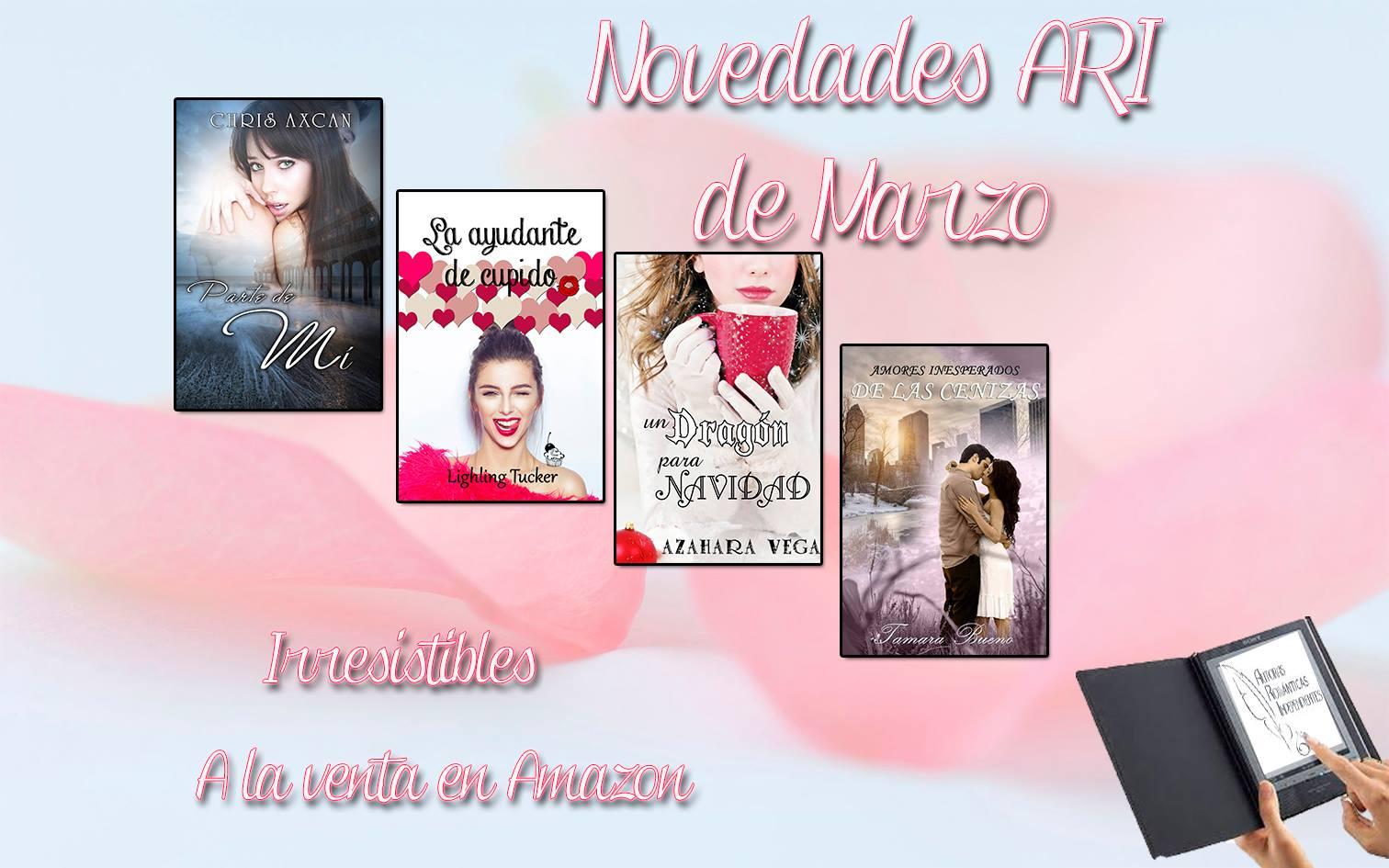 El desv n de las delicias novedades de marzo de ari - Novedades delicias ...