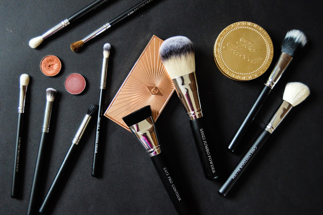 Crownbrush review Crown Brushes Face Contour Eyeshadow Blending Buffing