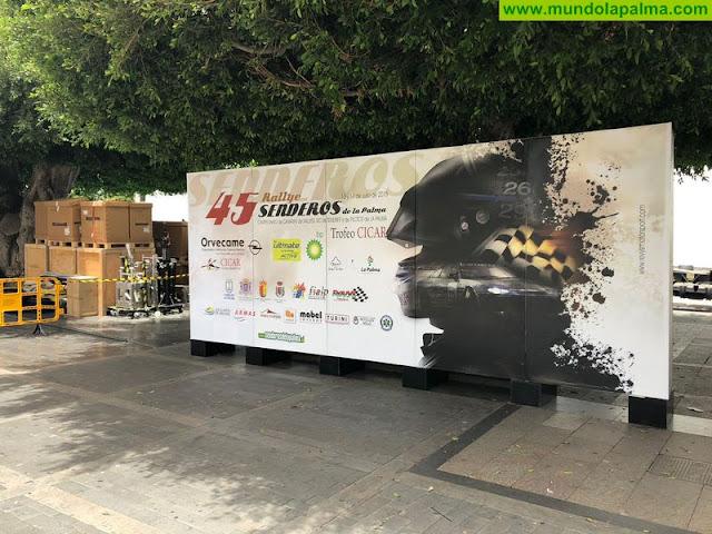 Un total de 64 pilotos y copilotos tomarán la salida en el 45 Rallye Senderos de La Palma