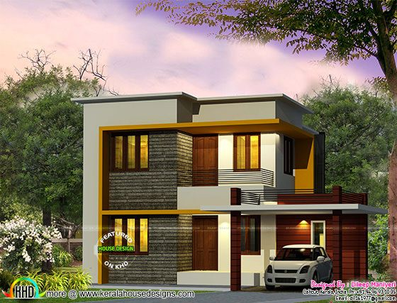 Cute 4 bedroom modern house 1670 sq-ft