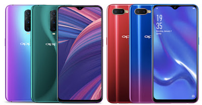 Oppo RX17 Pro and RX17 Neo  With In-display Fingerprint Sensor Launched