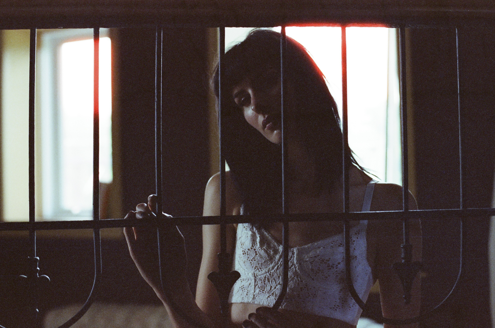 Jillian Xenia Cinestill Film 800  portraits