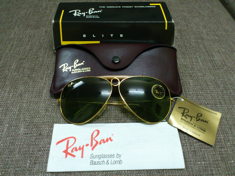 b789d96c99 Vintage Bausch   Lomb Rayban Sunglasses  (SOLD)NOS Ray Ban Shooter Elite  Masterpiece