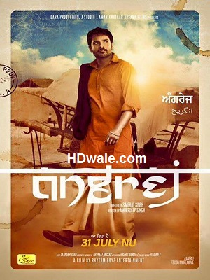 Angrej (2015) Punjabi Movie Download 720p DVDRip 1200mb
