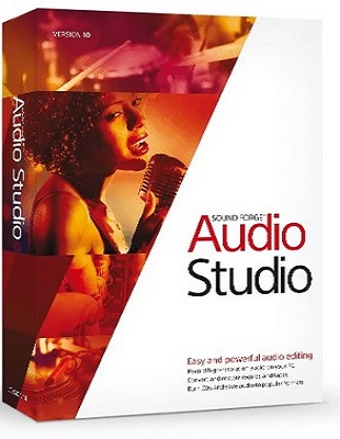 MAGIX Sound Forge Audio Studio 10.0 Build 319 poster box cover