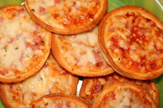 Mini-Pizzas tiefgekühlt