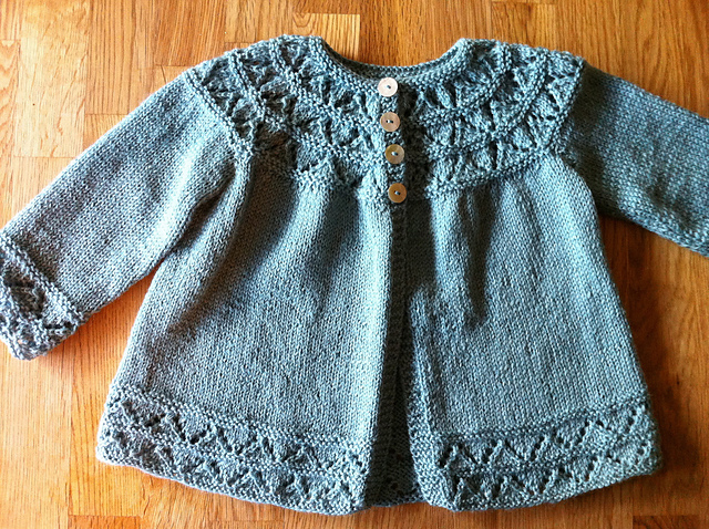 Top Ten FREE baby sweater patterns - Knitionary