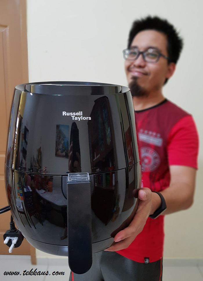 How to cook chicken wings with Russell Taylors Air Fryer-My Honest Review