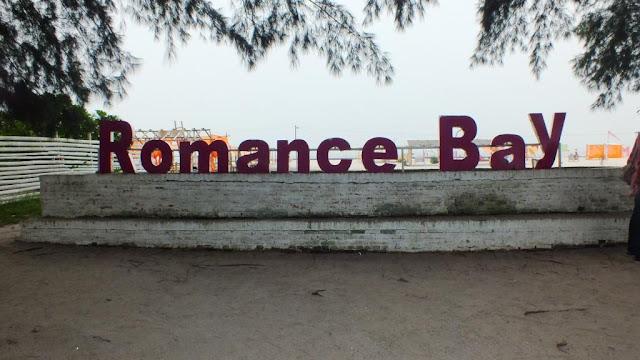 pantai romantis, romance bay di perbaungan, serdang bedagai