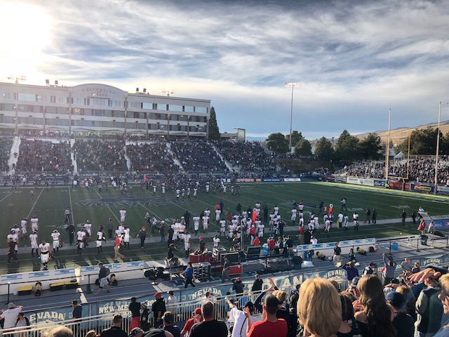 Nevada Wolf Pack Mackay Stadium