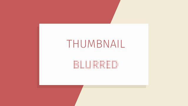 Perbaikan Thumbnail Gambar Buram di Blogger