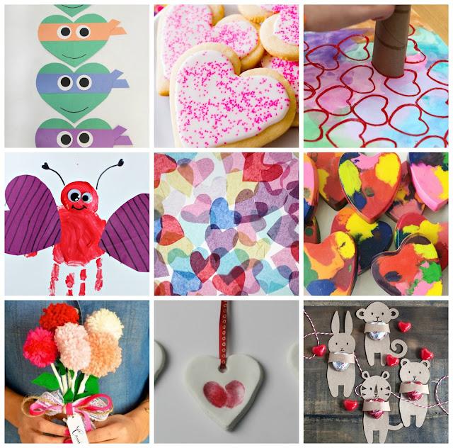 hand hearts craft - 640×632