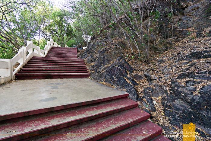 Cristo Rei Dili East Timor Stairs