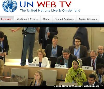 """Pernyataan Kepulauan Solomon di SESI-32 Debat Umum Dewan HAM PBB Hari ini Tanggal 22 Juni 2016 """"Sedang Berlangsung LIVE Online"""""""