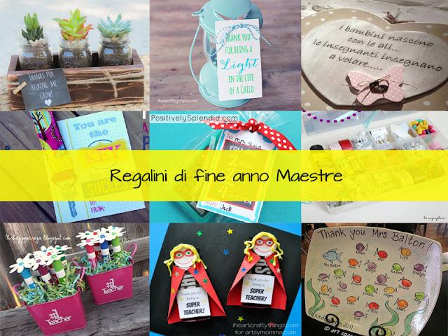 Idee per realizzare regali per la maestra  Kreattivablog