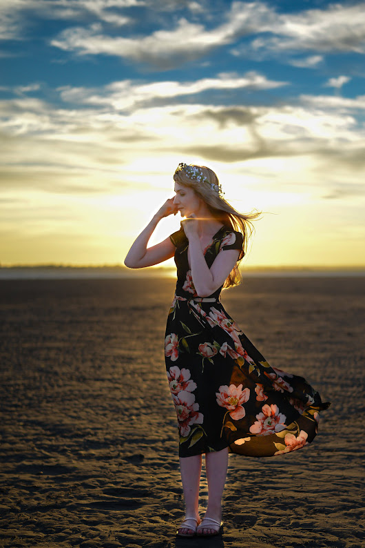 Outfit post: Summer floral maxi dress