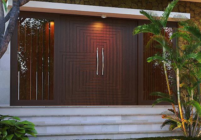 Rancang Bangun Pintu Rumah Minimalis Menurut Posisinya