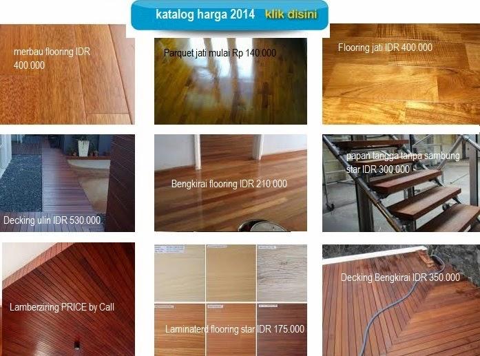 harga lantai kayu permeter
