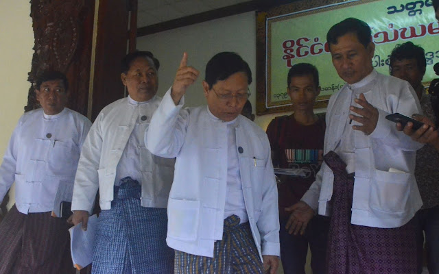 ၿဖိဳးသီဟခ်ိဳ (Myanmar Now) ● မဘသအသြင္ေျပာင္း ဗုဒၶ ဓမၼ ပရဟိတ ေဖာင္ေဒးရွင္းဆိုုသည္မွာ မဟနကိုု မလိွမ့္တစ္ပတ္ လုုပ္ျခင္းဟုု သာသနာေရးဝန္ႀကီးဆို
