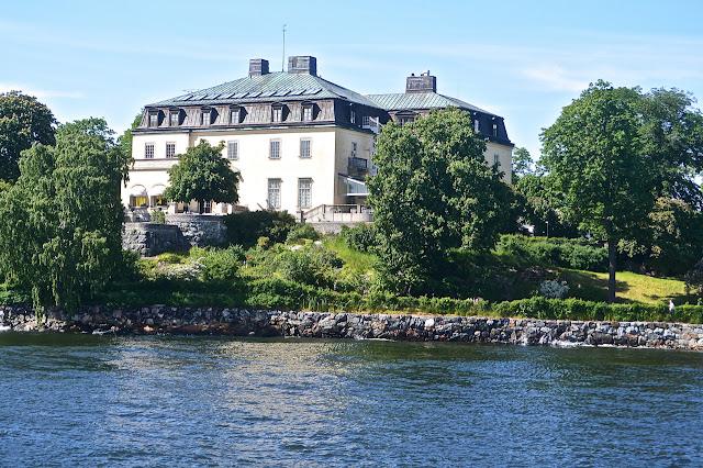 Stockholm : Prins Eugen Waldemarsudde : île de Djugarden