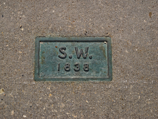 Grave marker of Samuel Warren - Bascom Hill Madison