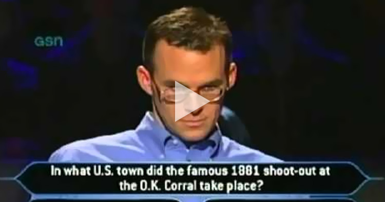 The first Man to win $1,000,000 without using any lifelines on Who Wants To Be A Millionaire
