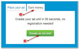 cara memasang iklan di anonymous