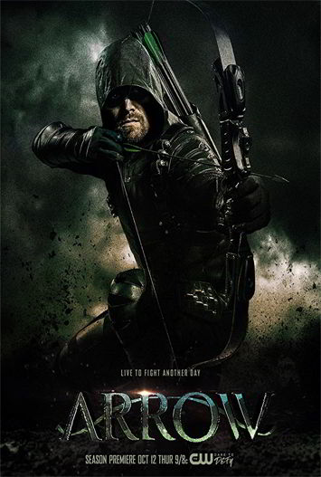 Arrow Temporada 6 HD 720p Latino Dual