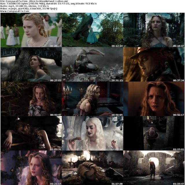 Alicia en el Pais de las Maravillas DVDRip Español Latino Descarga 1 Link