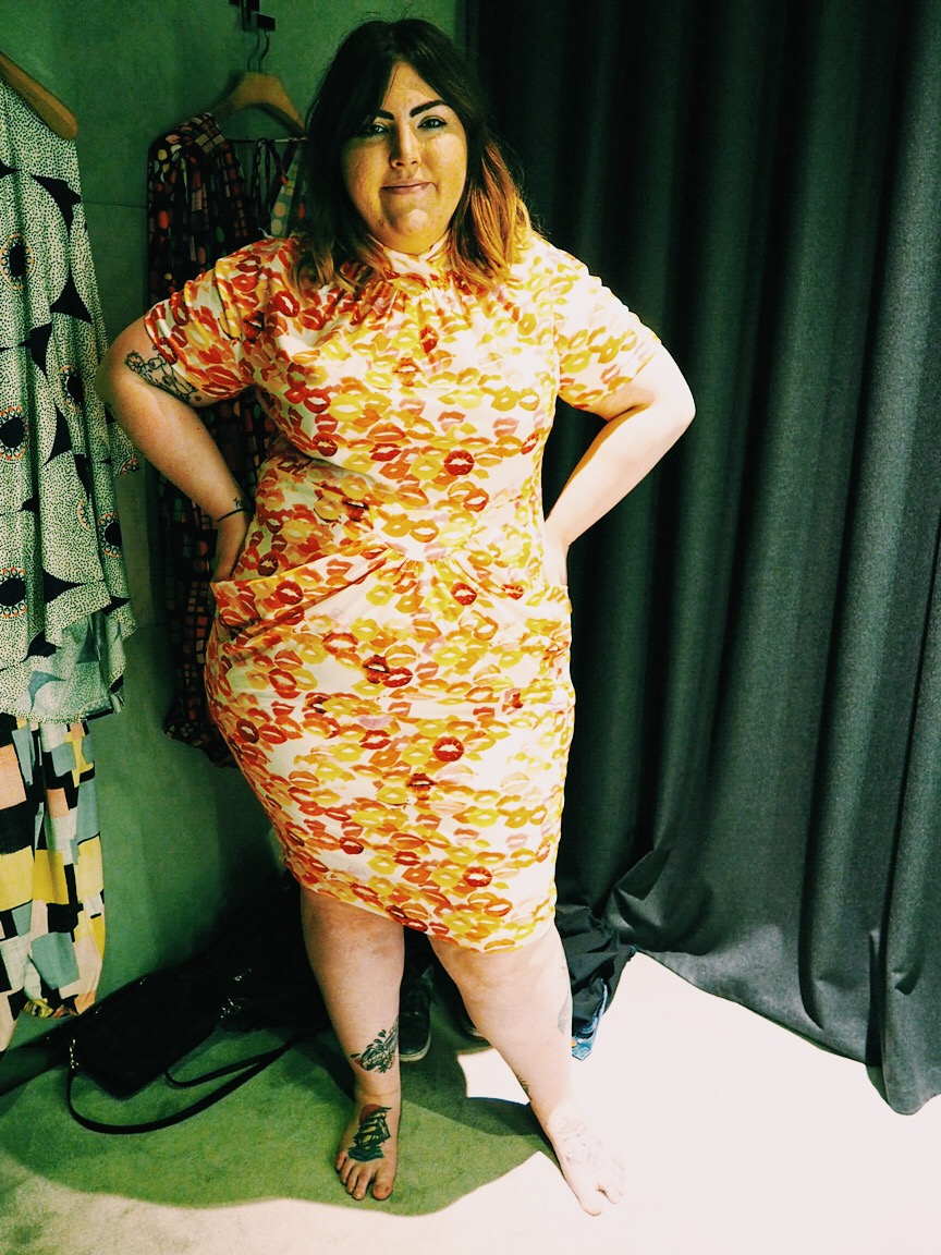 Beth Ditto First Plus Size Clothing Collection Launch ...