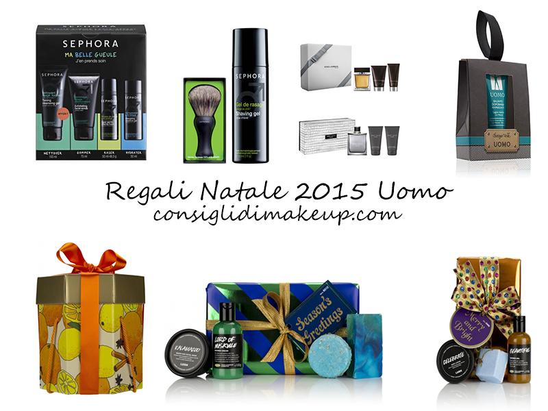 Regali Di Natale Maschili.Idee Regalo Natale 2015 Uomo Consigli Di Makeup Beauty More