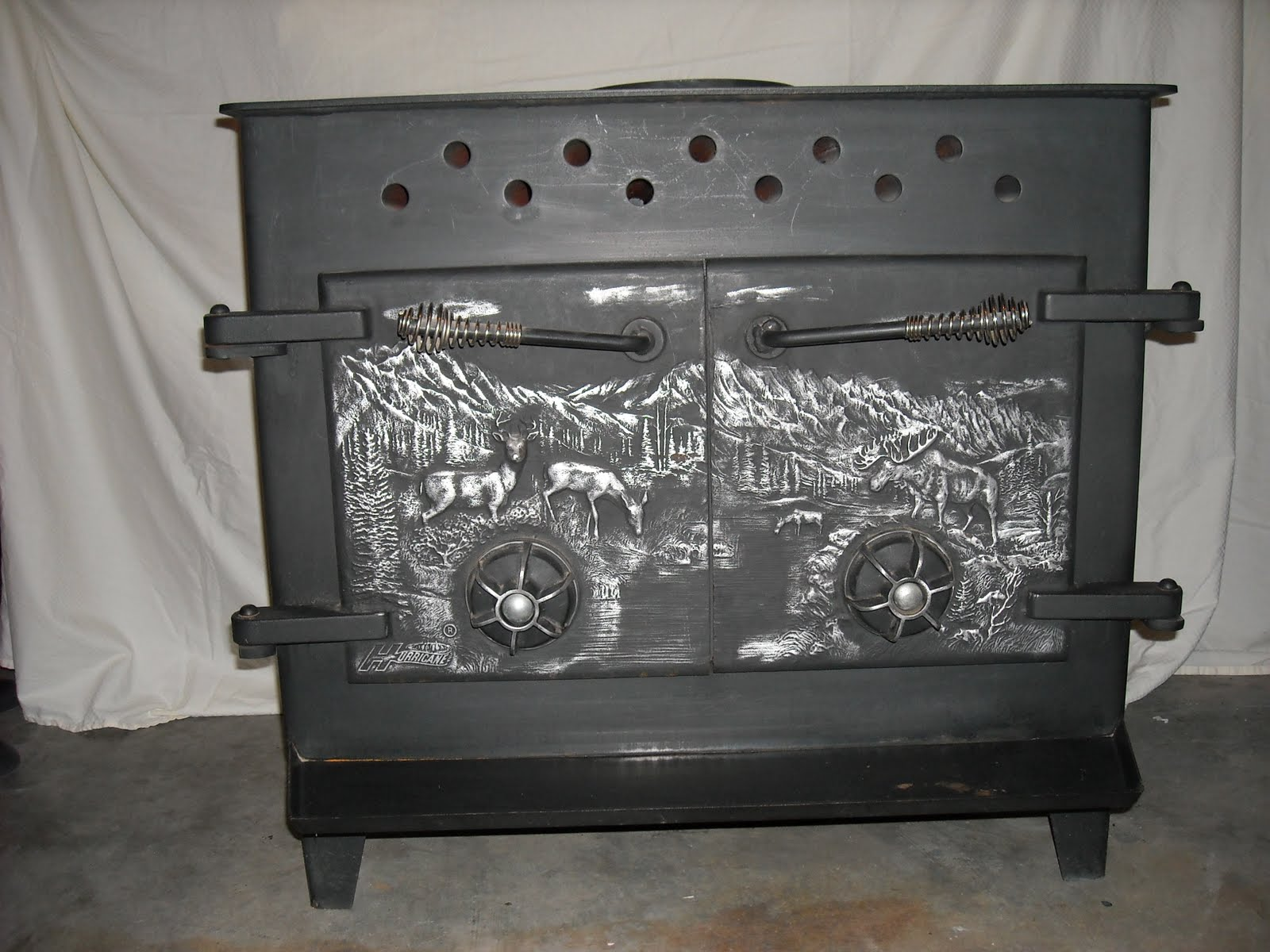 Moving Sale Pellet Woodburing Stove Pellets Cut Wood