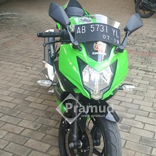 headlamp lampu led kawasaki ninja 250sl, 250rr mono 2014 2015 2016 2017 - pramud blog