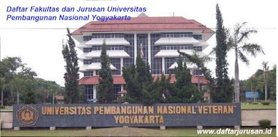 Daftar Fakultas dan Jurusan UPN Veteran / Universitas Pembangunan Nasional Yogyakarta