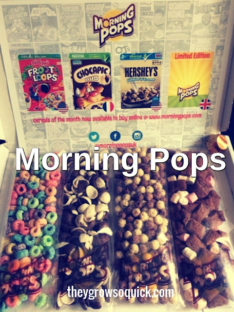Morning Pops,  cereal subscription box