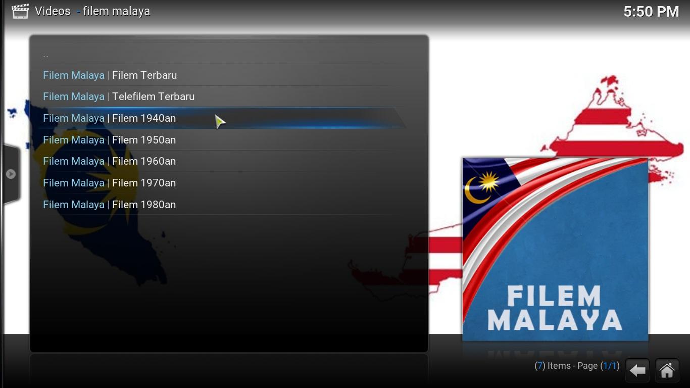 filem melaya   kodi addon malaysia addon   kodi iptv