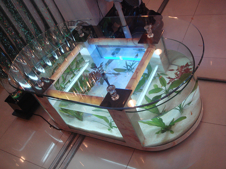 amazing aquarium tables for your living room