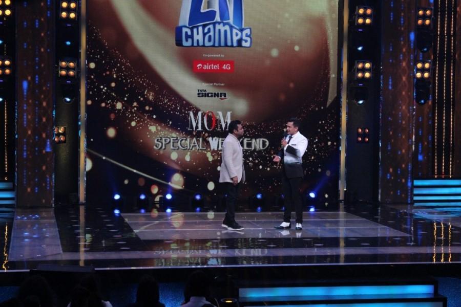 Sa Re Ga Ma Pa Li'l Champs Celebrate Moms Day with Singer AR Rahman
