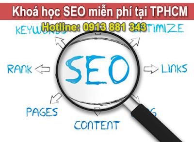Khóa Học SEO Website Miễn Phí Tphcm