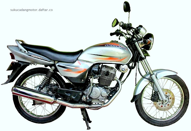 Daftar Harga Sparepart Honda Megapro 160 Lama (Gen 1 dan 2)