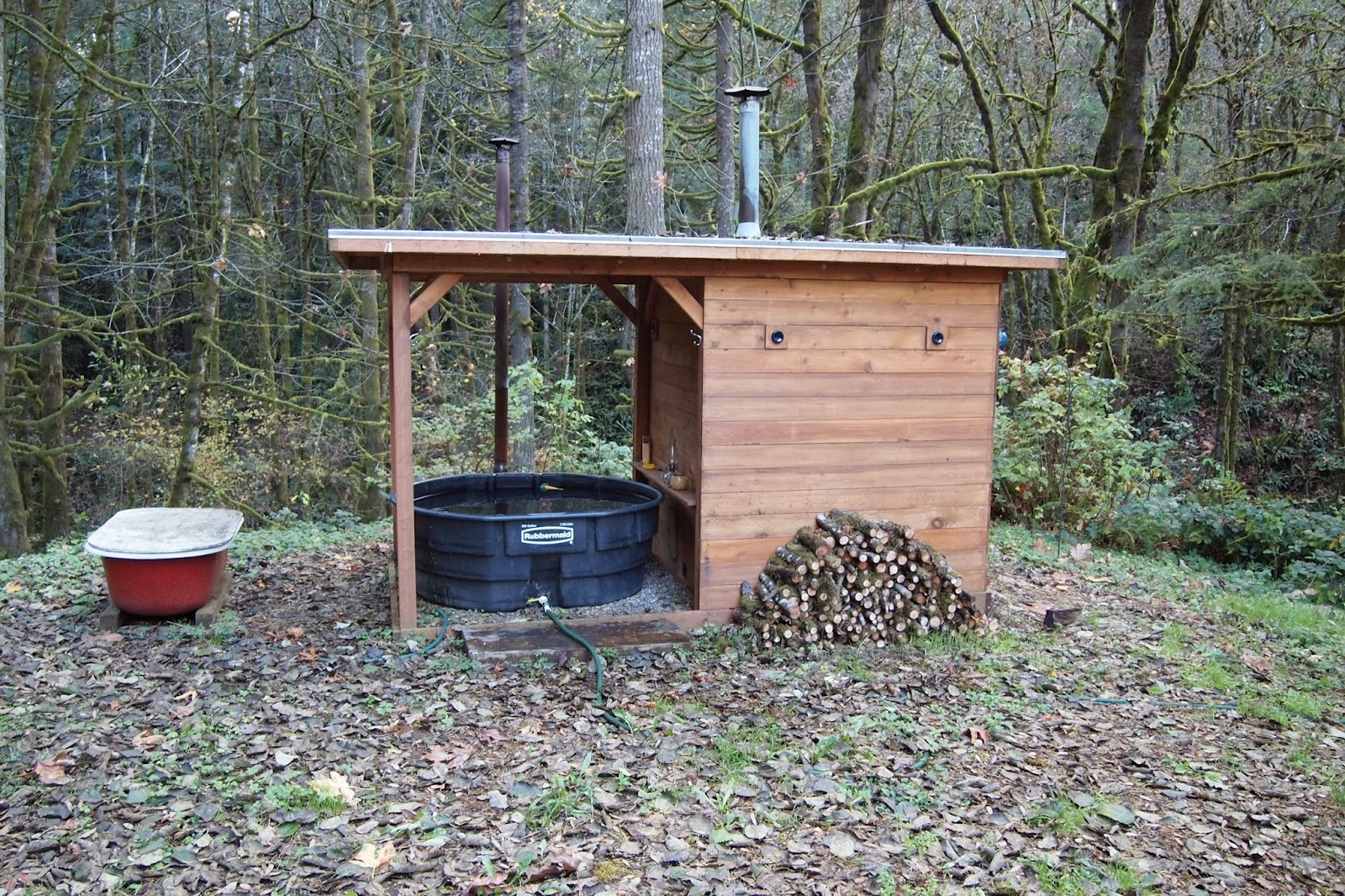 A Few Years Ago I Shared A Popular Post About My Friendsu0027 Do It Yourself  Wood Fired Hot Tub. Since That Time Doug And Erin Had A Kid And Moved To A  ...