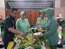 Perayaan HUT Persit KCK Ke 72 Tahun 2018 di Makodim 1304/Gorontalo