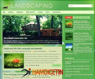 Landspacing Blogger Teması