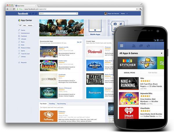 Facebook app online