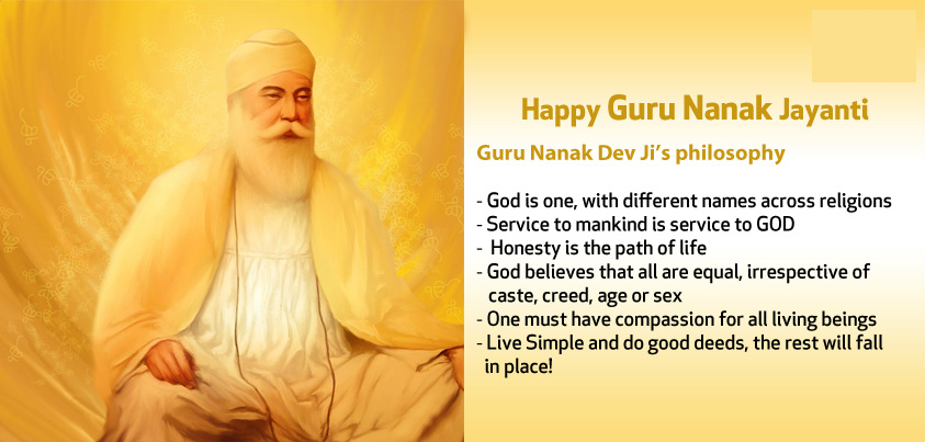 Happy Festivals2050 Images Wishes Quotes SMS Messages Status – Guru Nanak Birthday Greetings