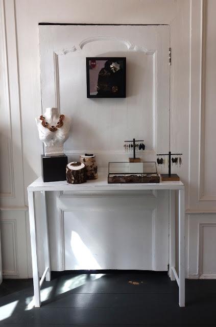 Atelier-boutique de la bijoutière contemporaine Marine Cauvin